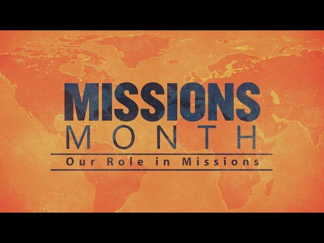 Missions Month:  Pioneer Bible Translators: August 1, 2021
