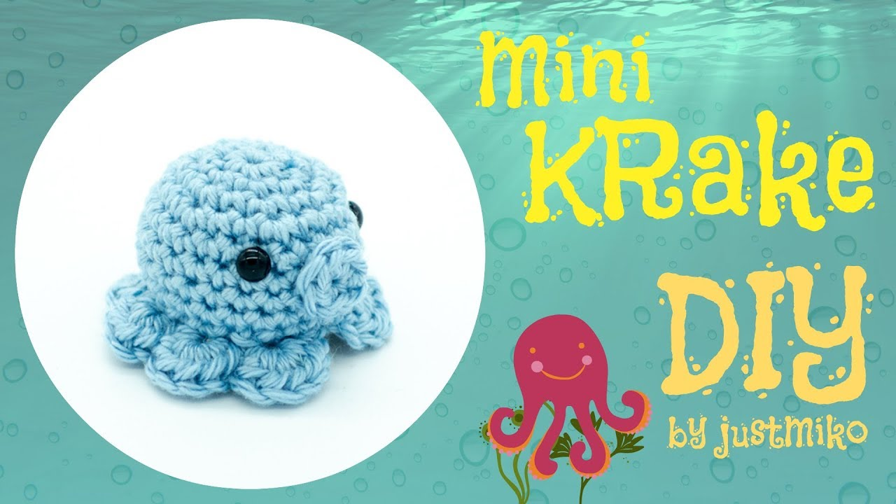Mini Krake Häkeln Do It Yourself Amigurumi Youtube
