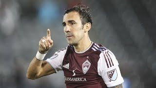 GOAL: Vicente Sanchez equalizes on a long-range free kick