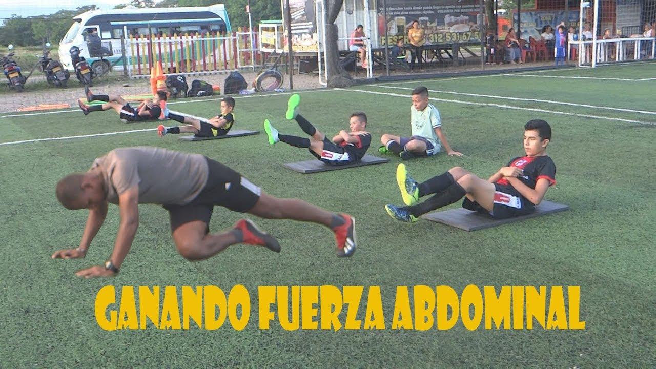 ejercicios para ganar fuerza abdominales