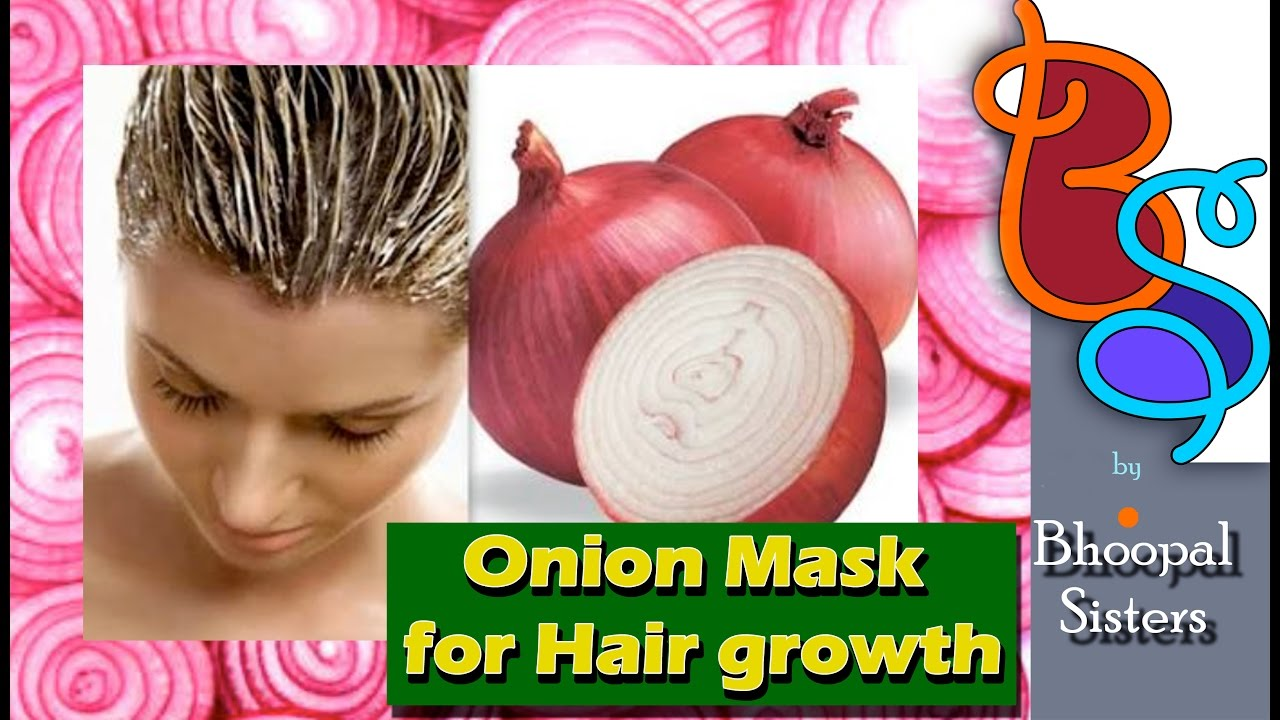 ONION HAIR MASK - Homemade miracle onion hair mask for