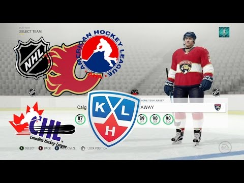 NHL 17   All Team Jerseys In The Game