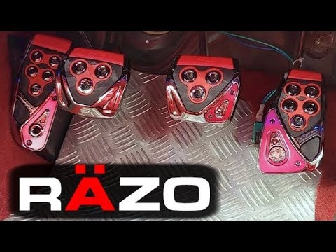 [RAZO] How to attach the pedal cover