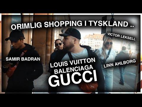 ORIMLIG SHOPPING I TYSKLAND ft. SAMIR, LINN AHLBORG & VICTOR LEKSELL *GUCCI, LV, BALENCIAGA*
