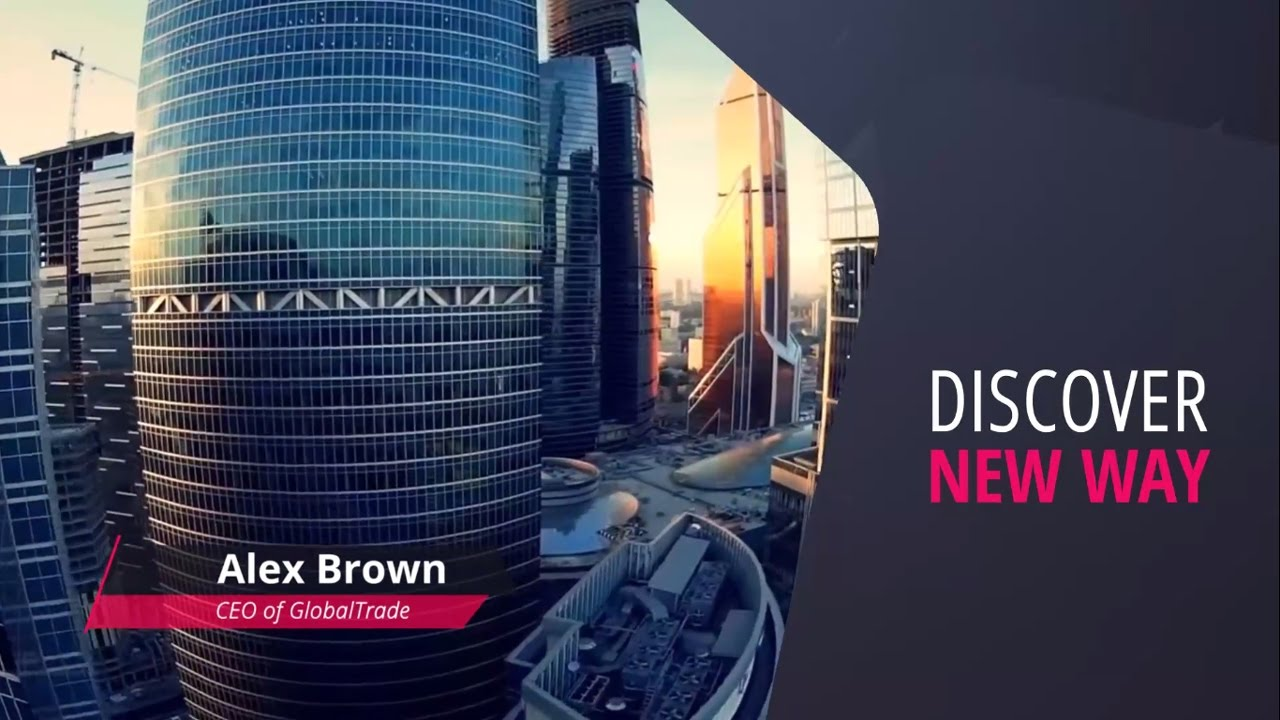 corporate company video profile - after effects template - youtube, Presentation templates