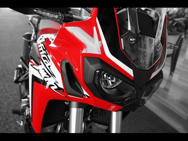 NEW/CRF1000L AfricaTwin DCT/ 試乗 (test ride ) GoPro4 Session
