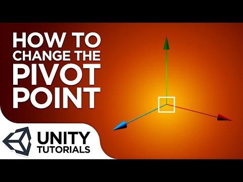 How To Modify The Pivot Point Beginner Tutorial Unity 2019
