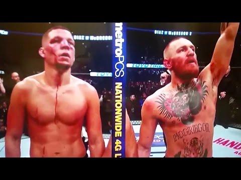 Conor Mcgregor vs Nate Diaz 2 BLOODSPORT | Full Fight Chat R U Surprised MF'ers? (UFC 202 REVIEW)