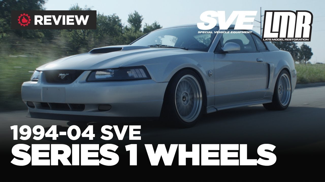 1994-2004 Mustang SVE Series 1 Wheels - Review - YouTube
