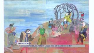 Exposition : Les illustrateurs fêtent les 20 ans de Rue du Monde