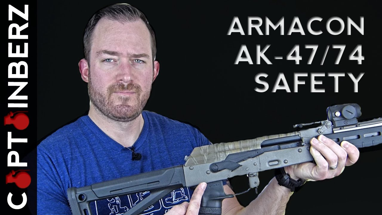 Russian Armacon AK-47/74 Enhanced Safety Selector (The Best!)