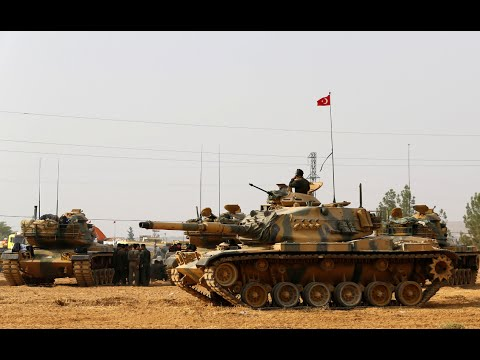 Turkey moves tanks into Syria in fight against ISIS