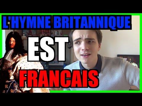 L'hymne britannique est... FRANÇAIS !