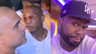 "50 Cent Clowns Ja Rule & Irv Gotti For Being Denied Entry Into A Club... ""I Said To Not Let You In"""