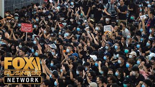 Hong Kong protesters calling for massive ATM withdrawals