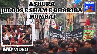 10th Muharram Mumbai 2019 | Ashura Juloos-e-Sham-e-Ghariba | #Mumbai_Juloos_Channel