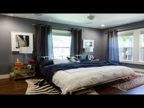 Beautiful Bedroom Designs With Gold And Navy Accents