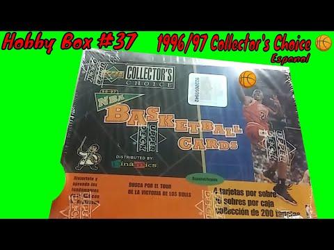 Hobby Box (1996/97 Collector's Choice 🏀)