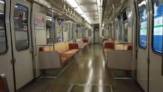 Osaka Metro (大阪メトロ)長堀鶴見緑地線 門真南~鶴見緑地 車内風景 Nagahori Tsurumi-ryokuchi Line (2020.6)