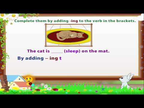 Learn Grade 3 - English Grammar - Verbs and Adverb