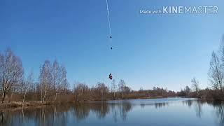 Рыбалка на озере Поймал ротана