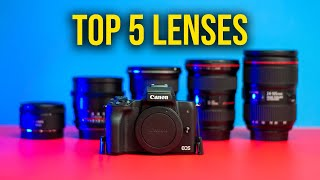 Top 5 Lenses For The Canon M50…