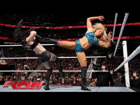 Paige vs. Charlotte: Raw, June 13, 2016