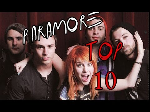 Top 10 Paramore Songs - YouTube
