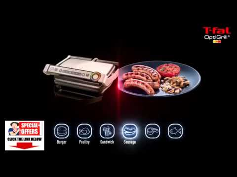 T fal indoor grill t fal gc702 optigrill indoor - T fal optigrill indoor electric grill ...