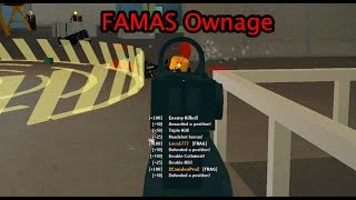 Roblox Phantom Forces - FAMAS Ownage