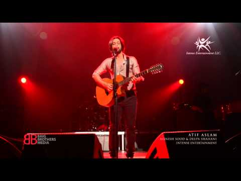 Atif Aslam sings Channa, live in concert