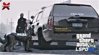 GTA 5 LSPDFR Police Mod - Sandy Shores K9