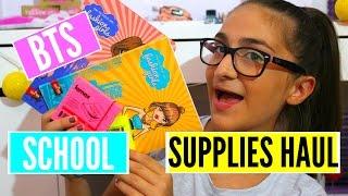 BACK TO SCHOOL | Supplies Haul | Leonarda Bu