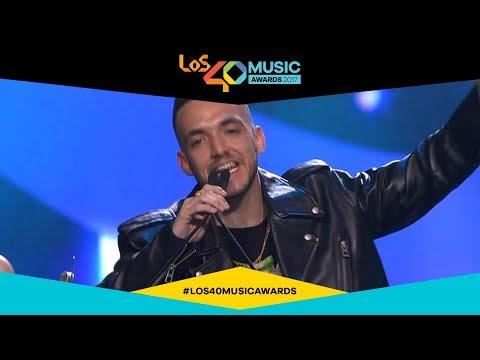 C. Tangana, artista revelación español | LOS40 Music Awards 2017