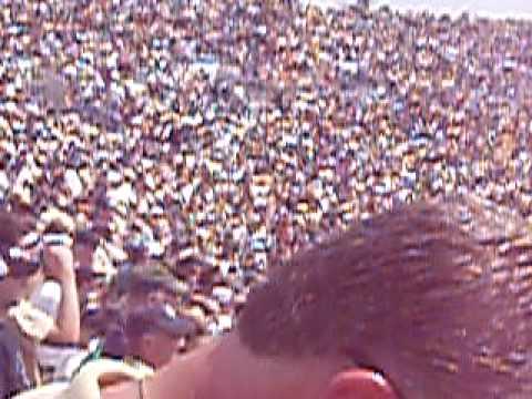panorama of ND stadium @ Nevada game