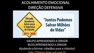 AÇÕES SOCIAIS E CAMPANHAS DO BLOG APRENDENDO A DIRIGIR