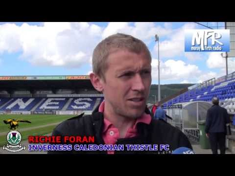 Inverness CT - Richie Foran Pre-match v Dundee United, 11/05/2013