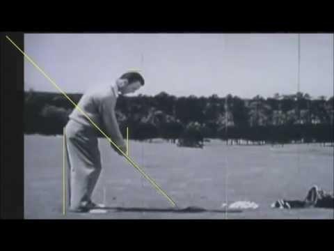 Ben Hogan Golf Swing Analysis -by Craig Hanson You Tubes Top Online Trainer.
