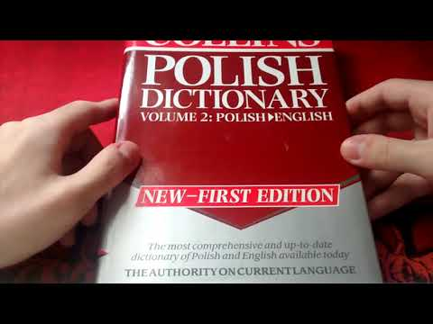 COLLINS POLISH-ENGLISH DICTIONARY 2 VOLUMES