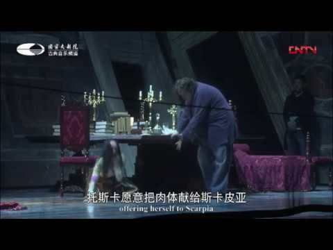 Tosca --- the best opera composed by Puccini