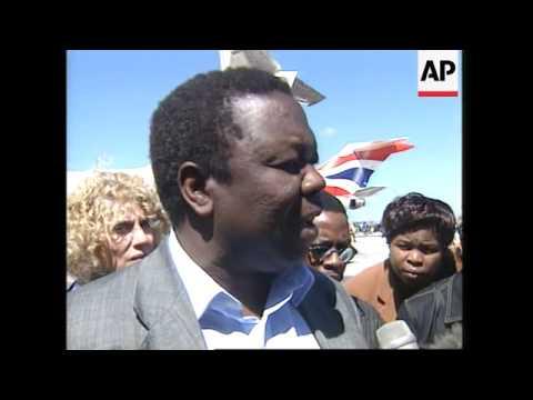 ZIMBABWE: MDC LEADER TSVANGIRAI CONDEMNS VIOLENCE