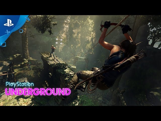 Shadow of the Tomb Raider - PS4 Combat Gameplay | PS Underground