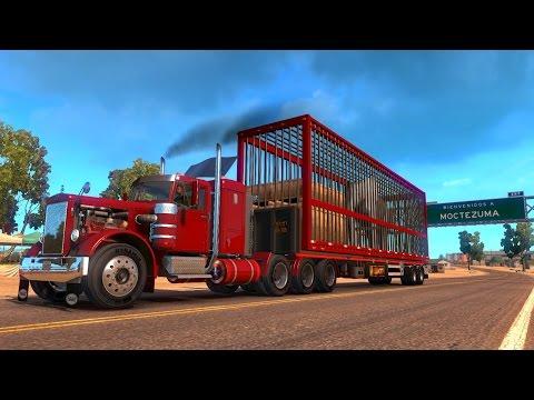 Peterbilt 281   Transportando un Elefante   De Moctezuma, Sonora a Sierra Vista, Arizona