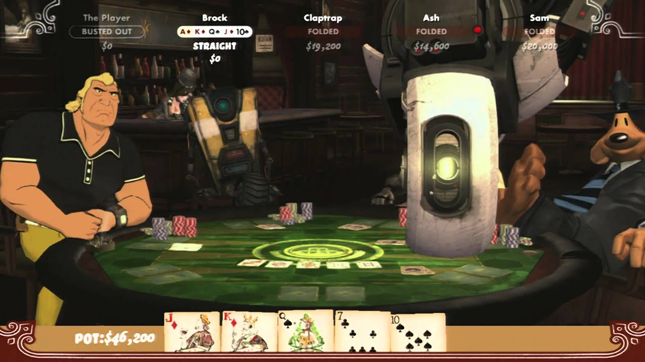 Cgr Undertow Poker Night 2 Review For Xbox 360 Youtube