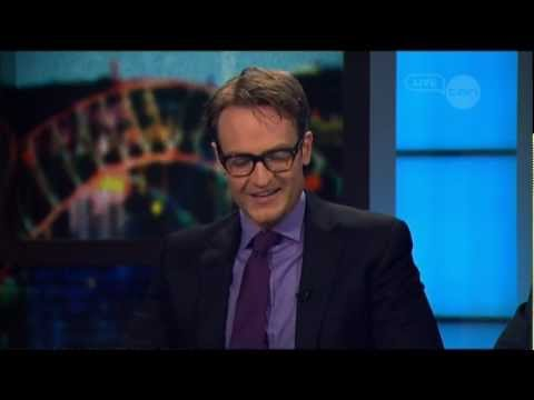 Josh Lawson interview on The Project (Australia) 2012 -- Any Questions For Ben?