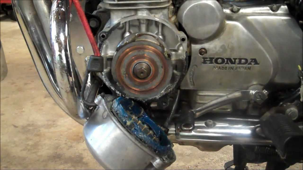 Wiring Diagram For  Motor Cb650 Charging Rotor Test Removal Amp Install Youtube