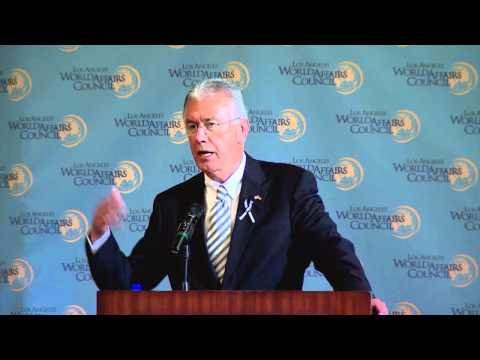 President Uchtdorf Addresses Los Angeles World Affairs Council
