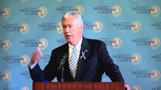 President Uchtdorf Addresses Los Angeles World Affairs Council