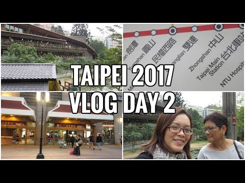 VLOG | TAIPEI TRAIN TIPS - DAY 2 | Isai Rivera