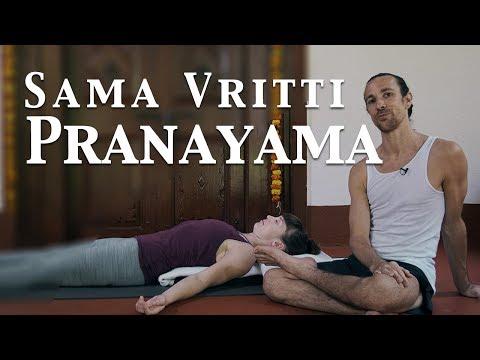Guided Sama Vritti Pranayama | Ashtanga Yoga with Joey Miles